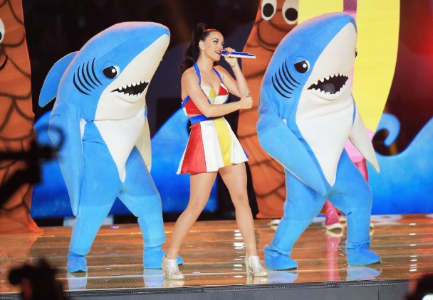 Watch Katy Perry's Super Bowl Halftime Show With Missy Elliott & Lenny Kravitz