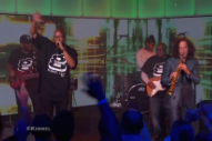 Watch Kenny G And Warren G Perform &#8220;Regulate&#8221; Together On <em>Kimmel</em>
