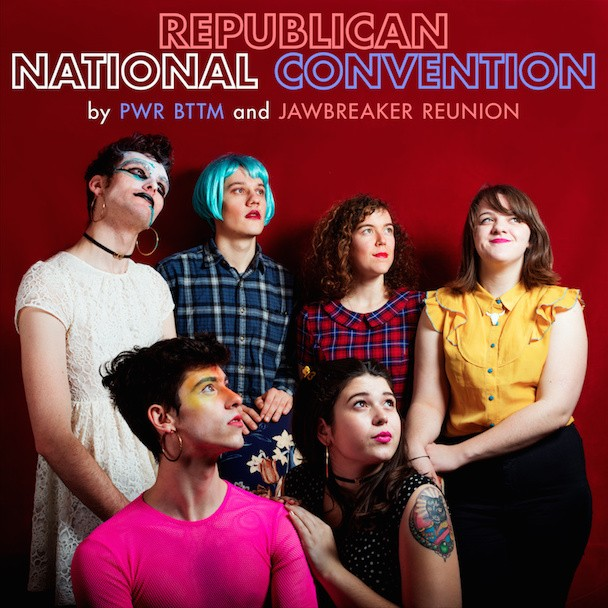 Stream Jawbreaker Reunion & PWR BTTM's Republican National Convention Split