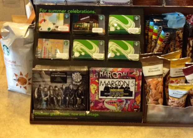 Starbucks Will Stop Selling CDs