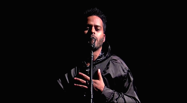 """Watch Twin Shadow Amaze With """"Turn Me Up"""" Performance On Letterman"""