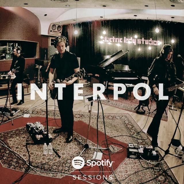 Interpol Spotify Session