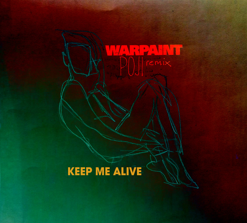 "All We Are – ""Keep Me Alive (Warpaint POJI Remix)"" (Stereogum Premiere)"