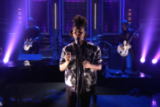 "Watch The Weeknd's Passionate ""Earned It"" Performance On Fallon"