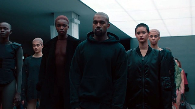 "62931889f Kanye West launched his adidas Originals Yeezy 750 Boost shoes and YEEZY  SEASON 1 ""solutions-based"" fashion line at an elaborate presentation for  New York ..."