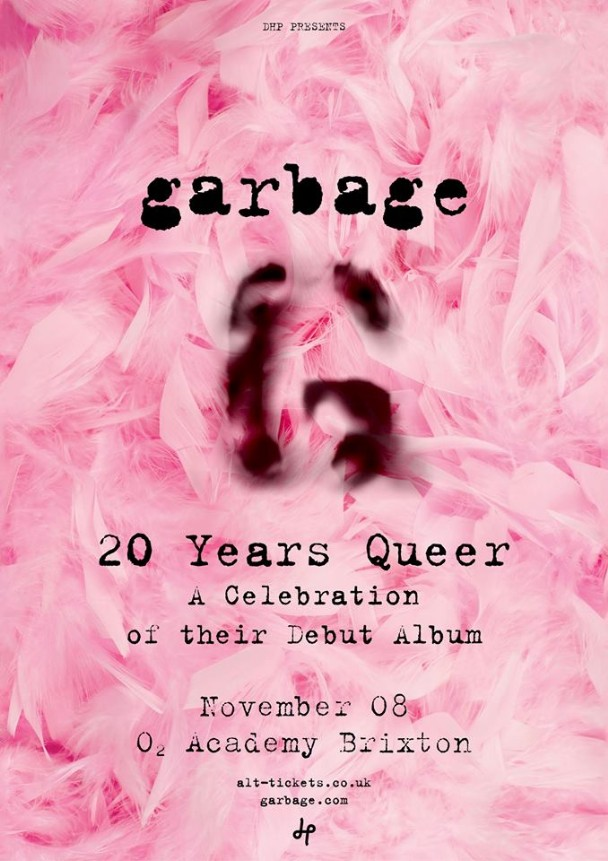 "Garbage Announce ""20 Years Queer"" Anniversary Shows"