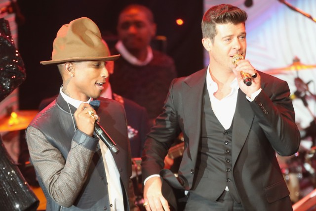 Robin Thicke Pharrell Williams Blurred Lines Trial