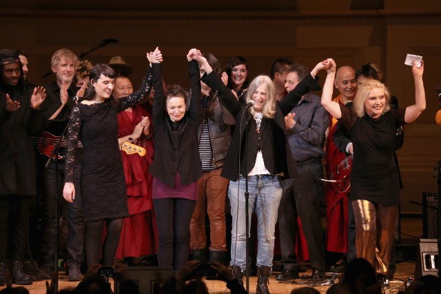 Tibet House Concert Benefit Patti Smith