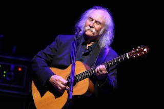 "David Crosby On Kanye West: ""He's An Idiot And A Poser"""