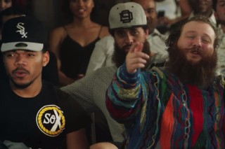 """Action Bronson – """"Baby Blue"""" (Feat. Chance The Rapper) Video"""