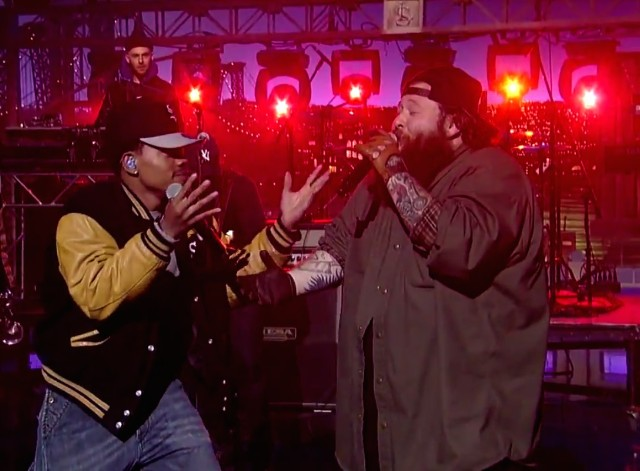 Action Bronson and Chance The Rapper on Letterman