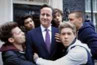 British Prime Minister David Cameron Loves The War On Drugs