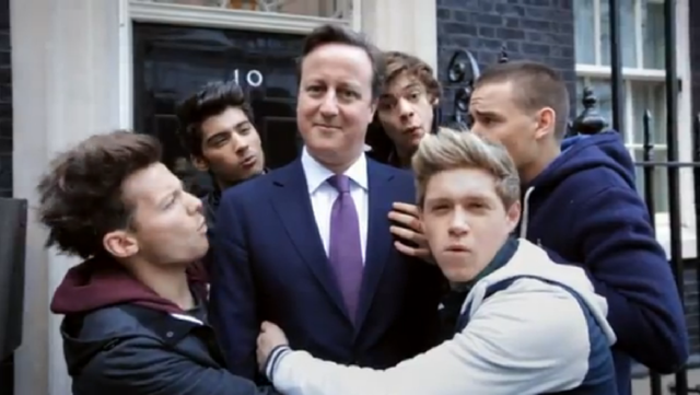 david cameron one direction - photo #9