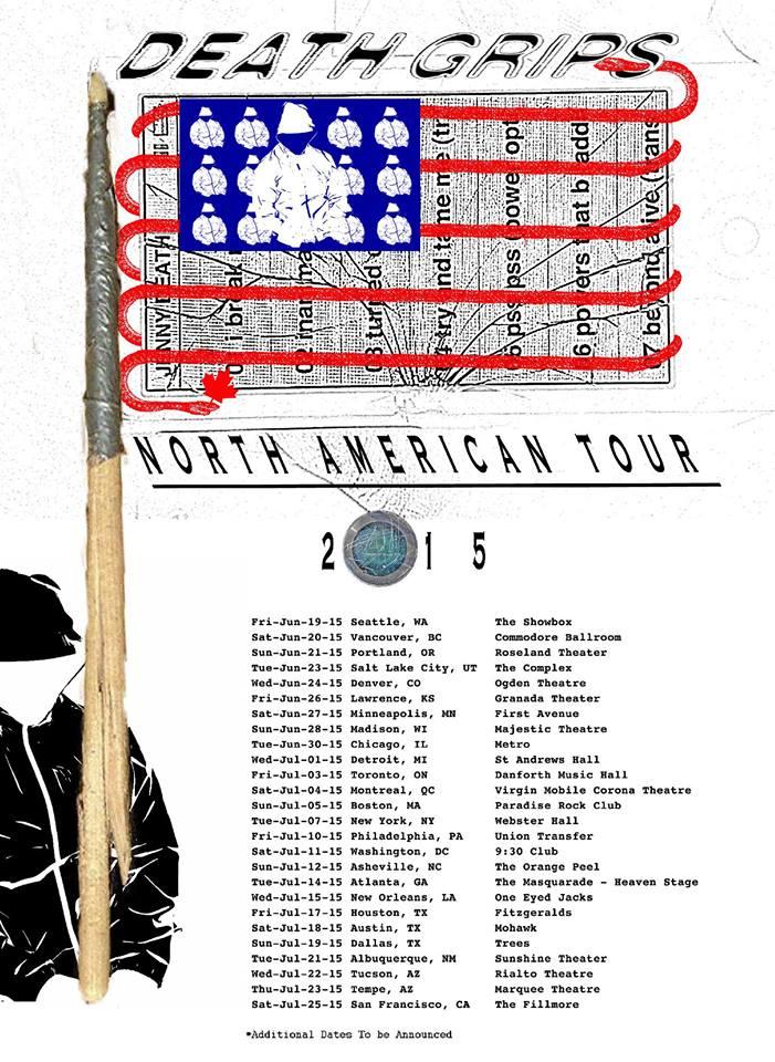 Death Grips Announce World Tour Stereogum