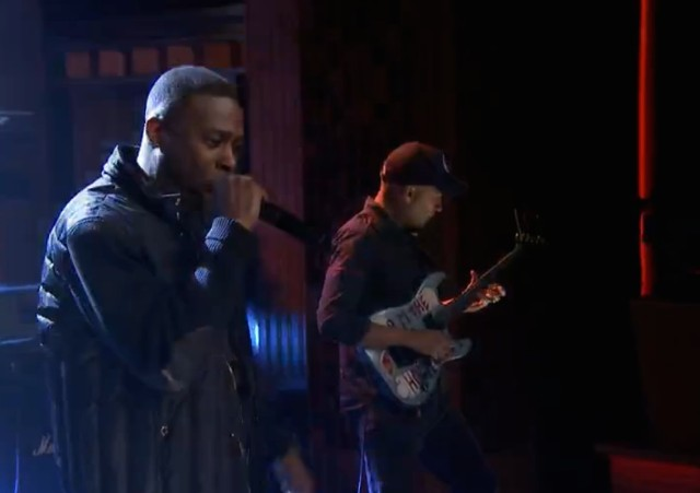 GZA on The Tonight Show