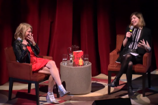 Watch Carrie Brownstein Interview Kim Gordon On Her Memoir <em>Girl In A Band</em>
