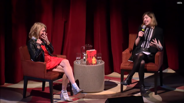 Watch Carrie Brownstein Interview Kim Gordon About Her Memoir <em>Girl In A Band</em>