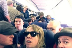 Lifehouse on a plane