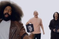 Watch Tears For Fears &#038; Reggie Watts&#8217; &#8220;Bomb Song&#8221; Video For <em>Comedy Bang! Bang!</em>