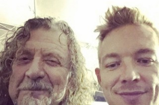 Robert Plant And Diplo Are Collaborating