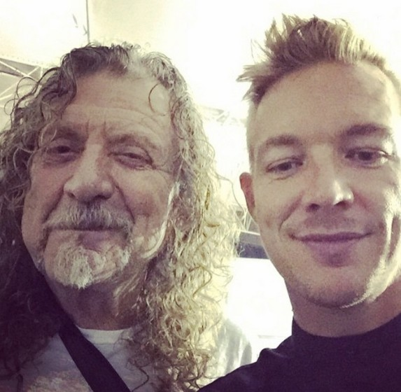 Robert Plant and Diplo