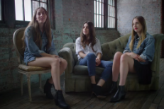 Watch HAIM Star In A Levi's Commercial