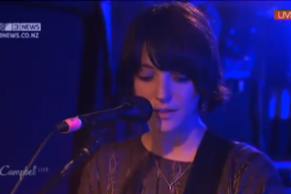 Watch Sharon Van Etten Move A Superfan TV Anchorman To Tears