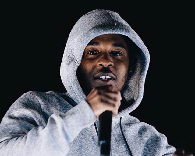 Kendrick Lamar on Reebok truck