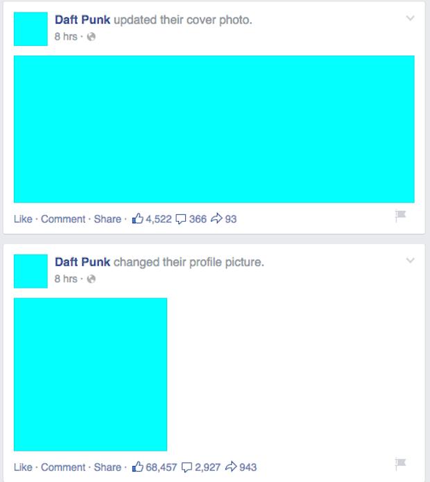 Daft Punk for Tidal