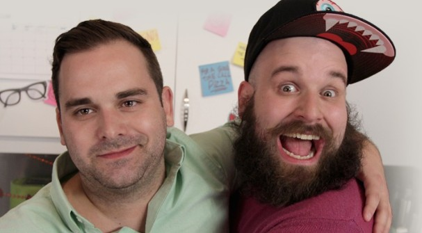 Watch Damian Abraham's Food Network Show Super Snack Bros.