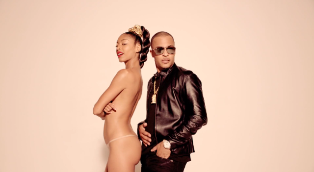 T.I. in Blurred Lines