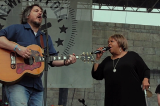 """Watch Jeff Tweedy & Mavis Staples Cover John Fogerty's """"Wrote A Song For Everyone"""""""