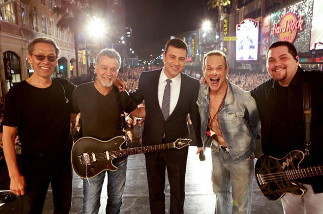 Van Halen and Jimmy Kimmel