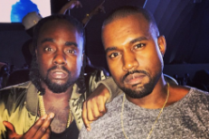 Wale and Kanye West