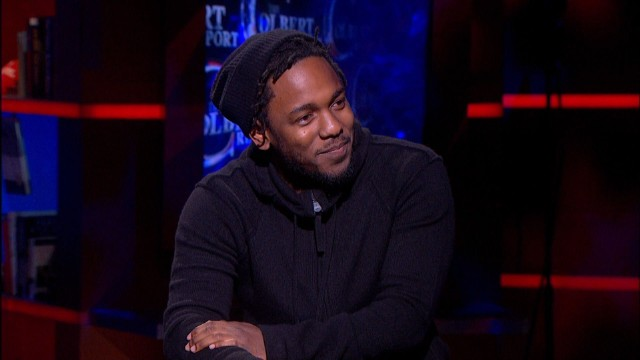 Kendrick Lamar Untitled Colbert Report Song