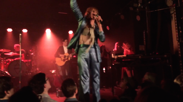 Watch Florence + The Machine Play Four New Songs In London