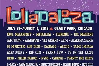 Lollapalooza 2015 Lineup