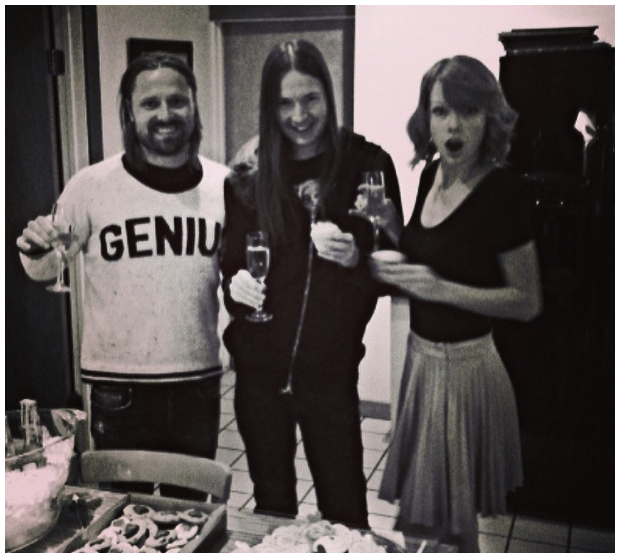 Max Martin, Shellback, and Taylor Swift