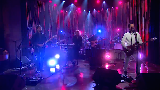 "Watch Modest Mouse Perform ""Be Brave"" As The First Musical Guests On The Late Late Show With James Corden"