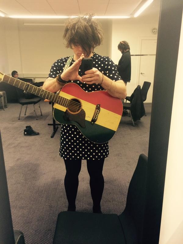 Natalie Prass Missed Her Flight To Copenhagen So Ryan Adams Put On A Dress And Played Her Set For Her