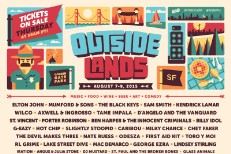 Outside Lands 2015 Lineup Poster