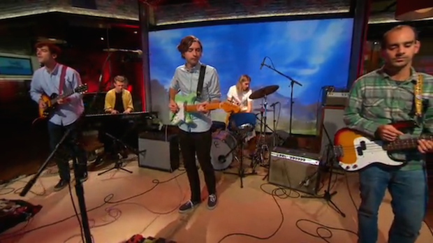 Watch Real Estate Perform On CBS This Morning