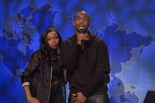 Watch Jay Pharoah As Kanye West Rap An Apology Song On <em>SNL</em>