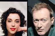 St. Vincent Interviews Gang Of Four's Andy Gill About Distortion Pedals, Soccer Tricks, And The Grateful Dead