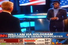 Will.I.Am Hologram