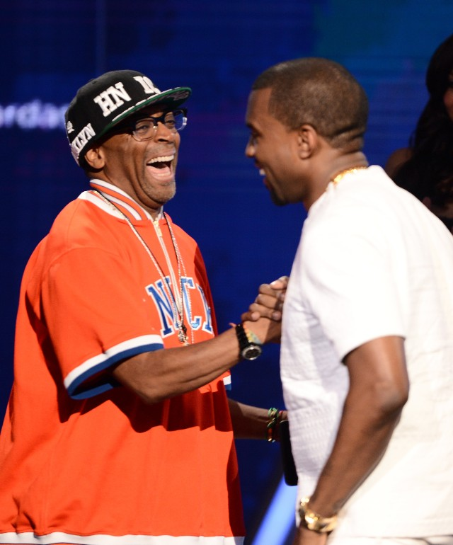 Spike Lee And Kanye West
