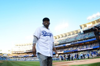 Watch Kendrick Lamar Throw Out The First Pitch For The Dodgers