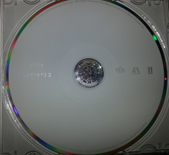 Hidden braille message reveals full title of kendrick lamar s to pimp a butterfly stereogum - Cd concreet ...