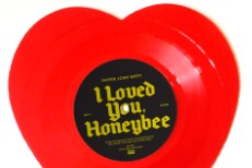 I Loved You Honeybee Father John Misty Heart-Shaped Vinyl