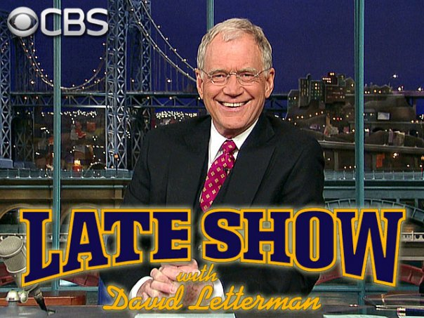 David Letterman Late Show Final Musical Guests